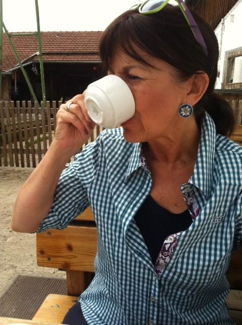 Der Kaffee zum Wildbeerenkuche - einfach ein Genuss.
