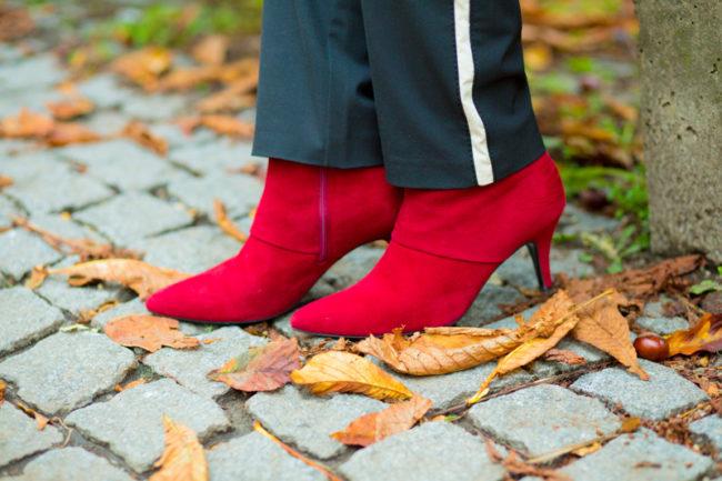 Rote Stiefeletten Peter Kaiser