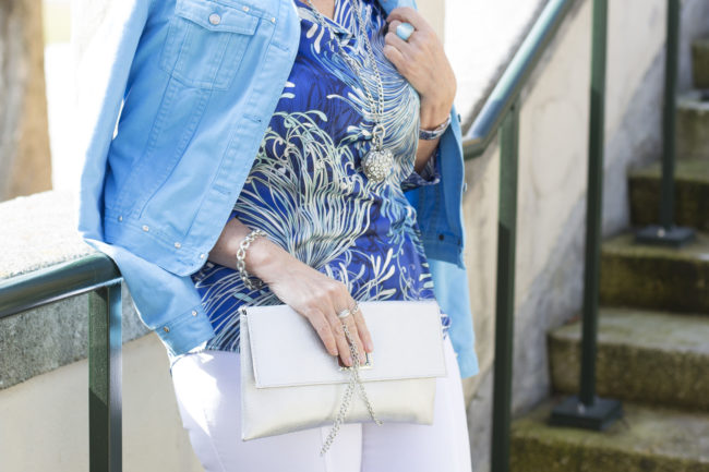 Blaue Tunika - Modetrends