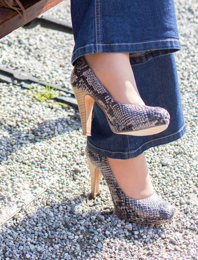 Kroko-Schuhe