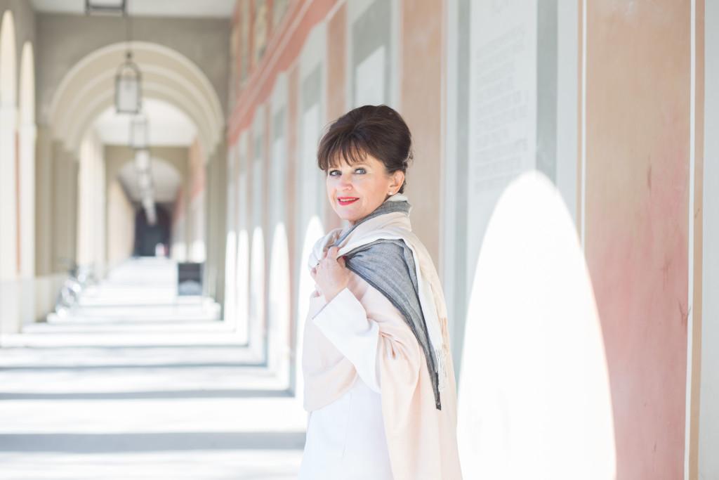 Purer Look – der weiße Hosenanzug