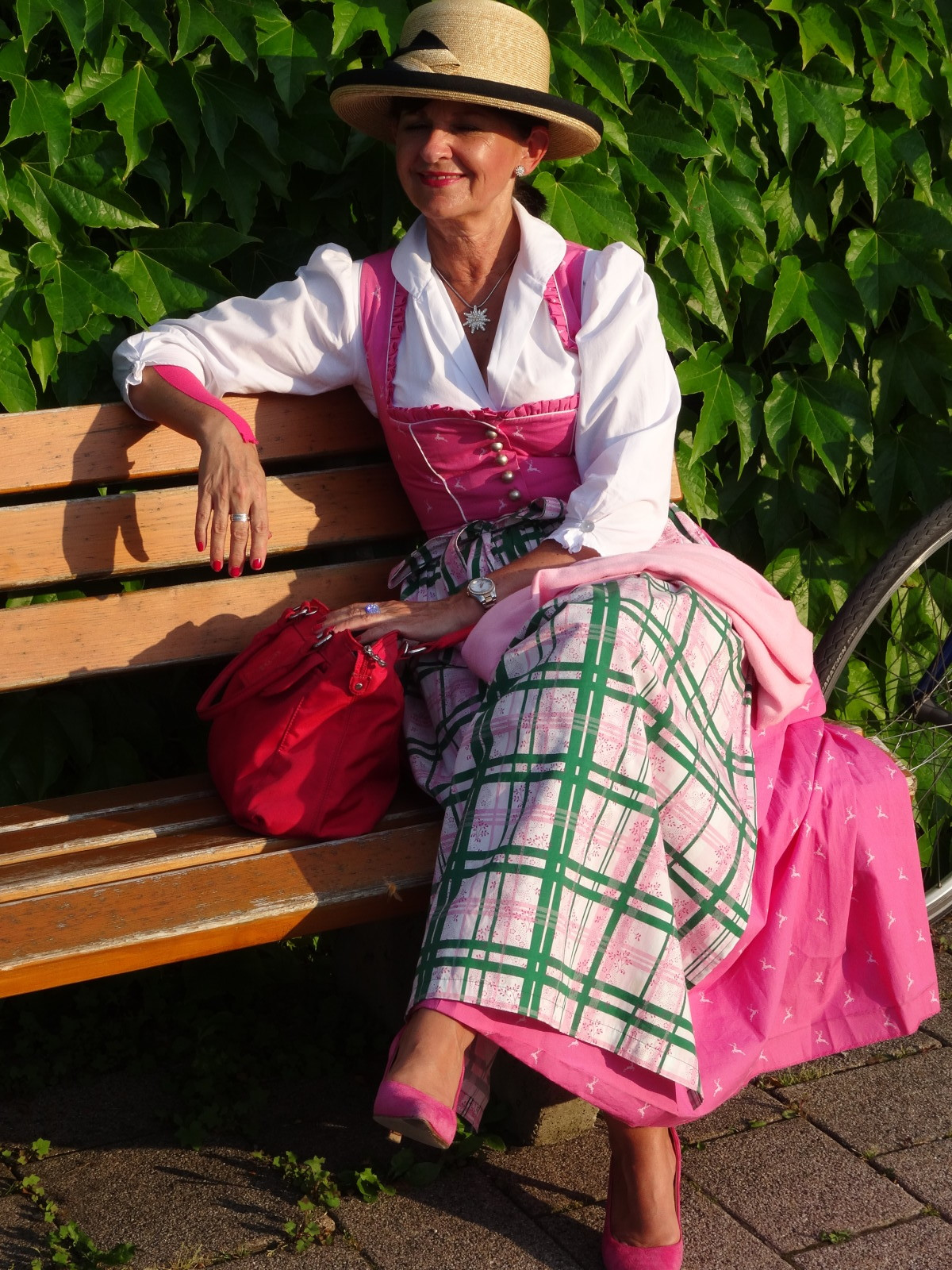 Dirndl in Pink - Martina Berg