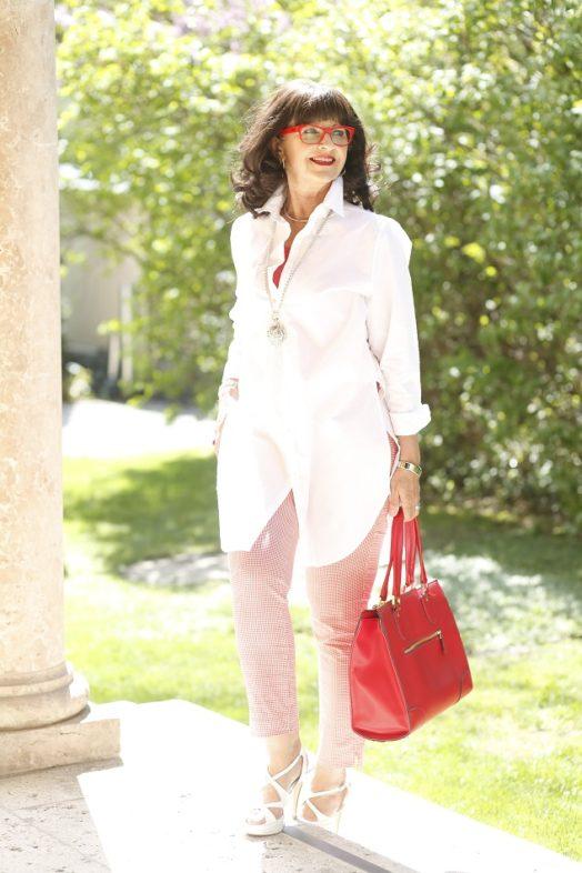 Weiße Longbluse – It-Piece für den casual look