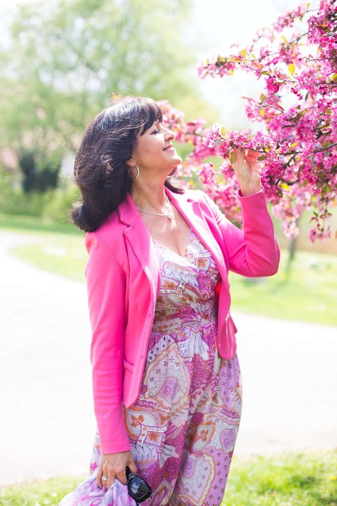 Pretty in Pink - Blazer mit Kleid - I