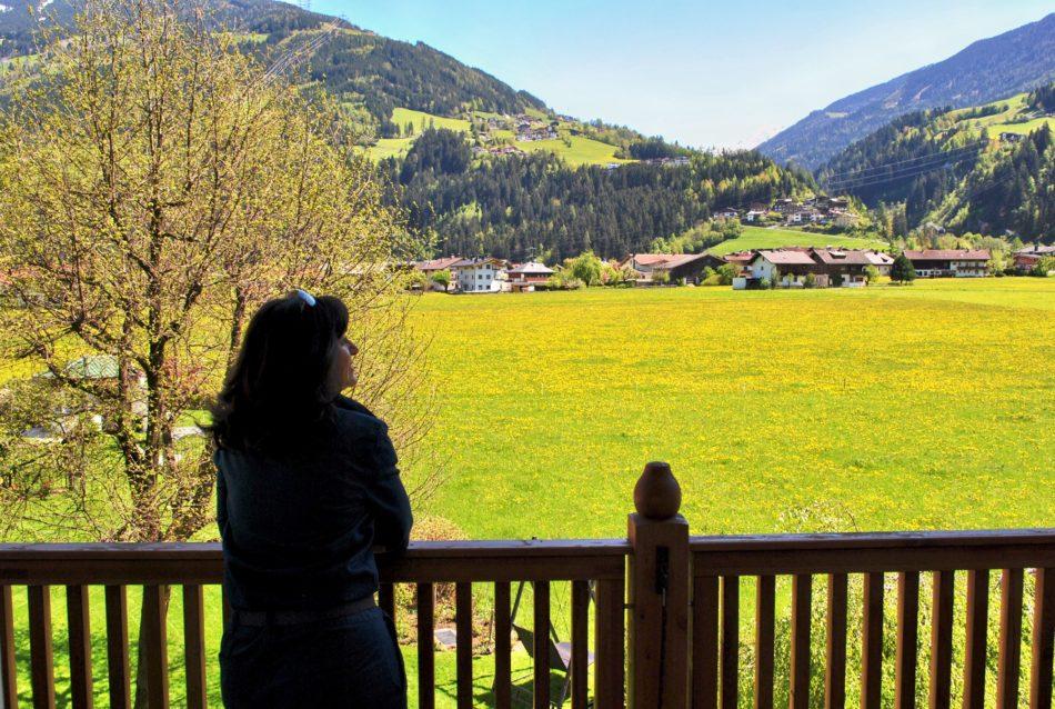 Zillertal 2016 - Ausblick aus dem Zimmer