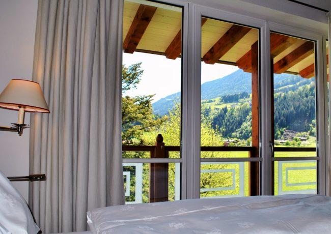 Zillertal 2016 - Ausblick vom Bett aus