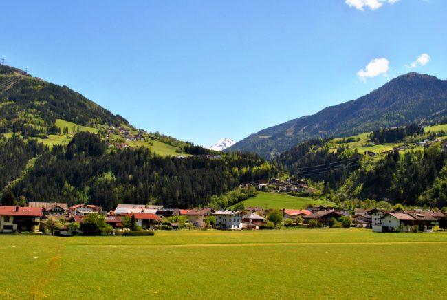 Zillertal 2016 - Hotel Theresa - Bergblick