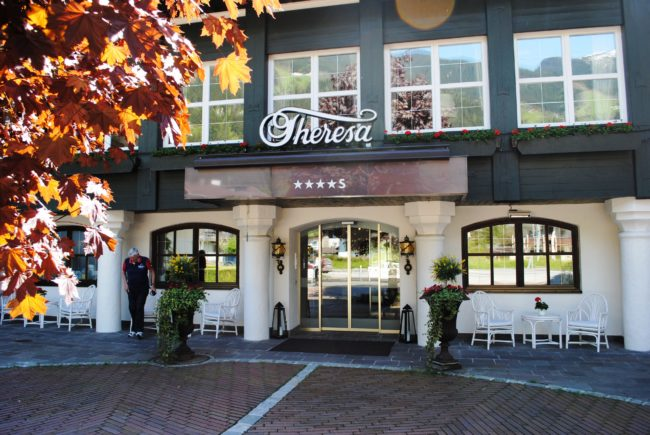 Zillertal 2016 Hotel Theresa Eingang