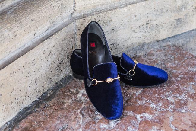 Blaue Ballerinas von Högl
