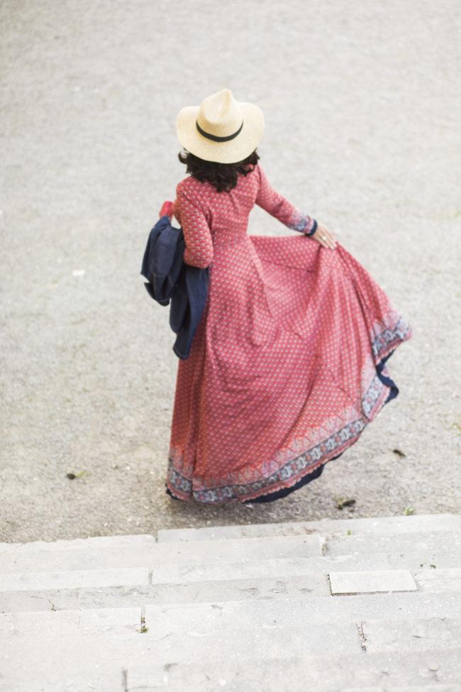 Kleid - Boho-Stil - weiblich