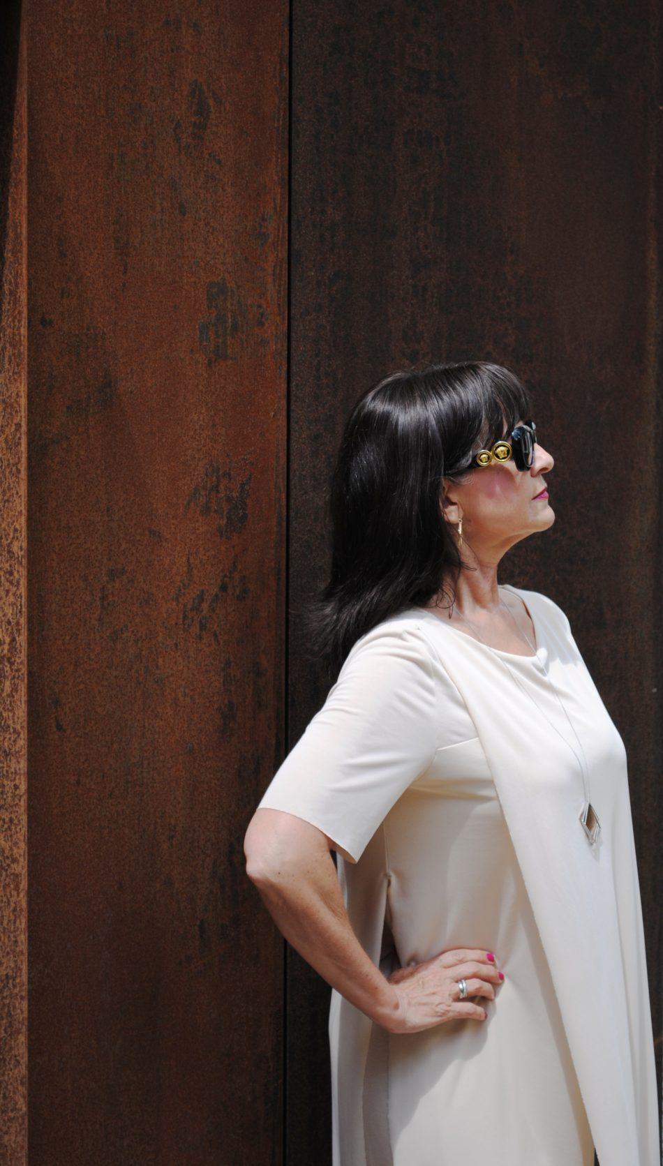 Sommerkleid nude Sonnenbrille_2