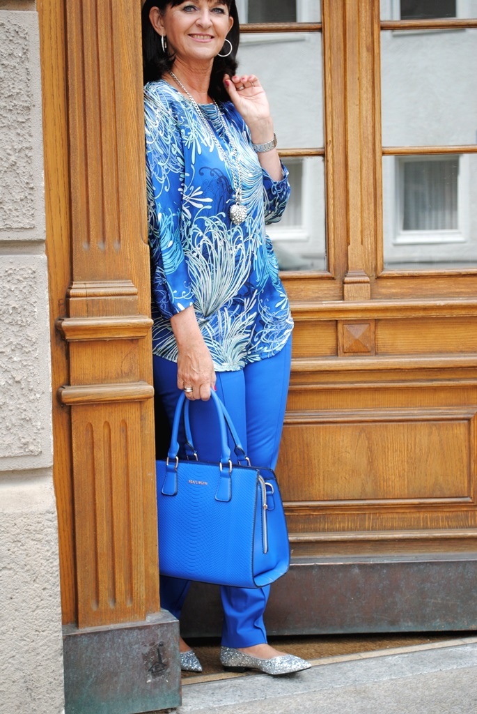 Easy Chic in Blau
