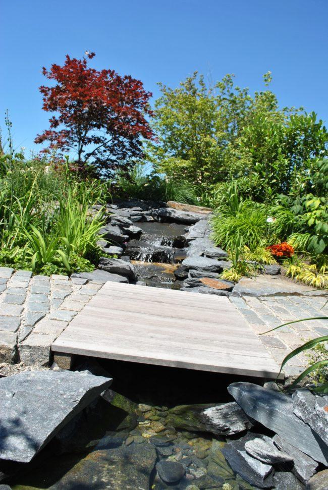 Gartenschau Wasserlauf