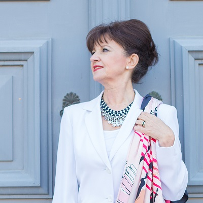 Martina Berg - Look in White