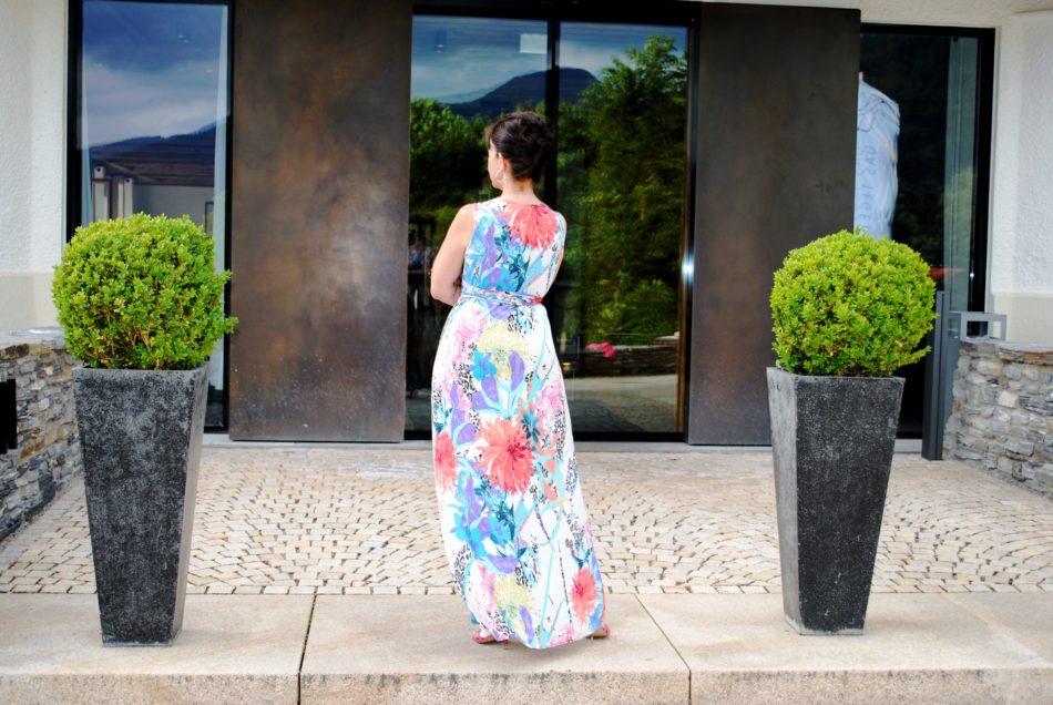 Sommerkleid lang ohne Blazer