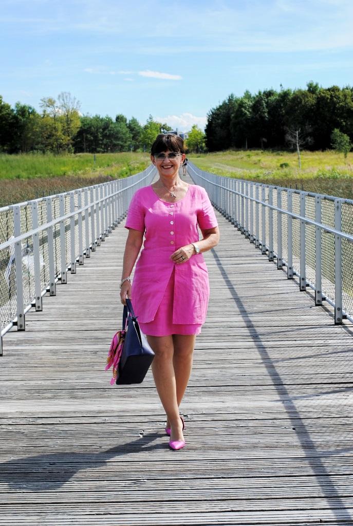 Sommerkleid in Pink