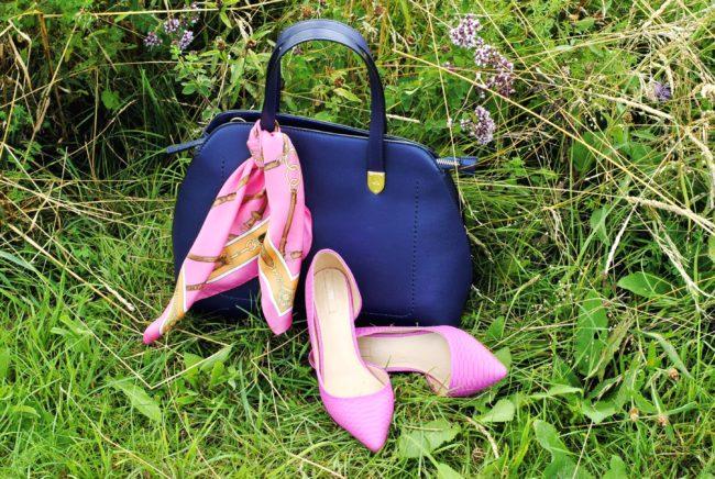 Tasche und Schuhe