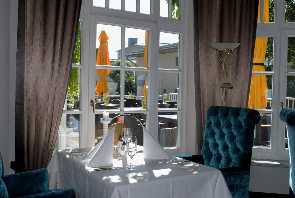 das blaue Restaurant