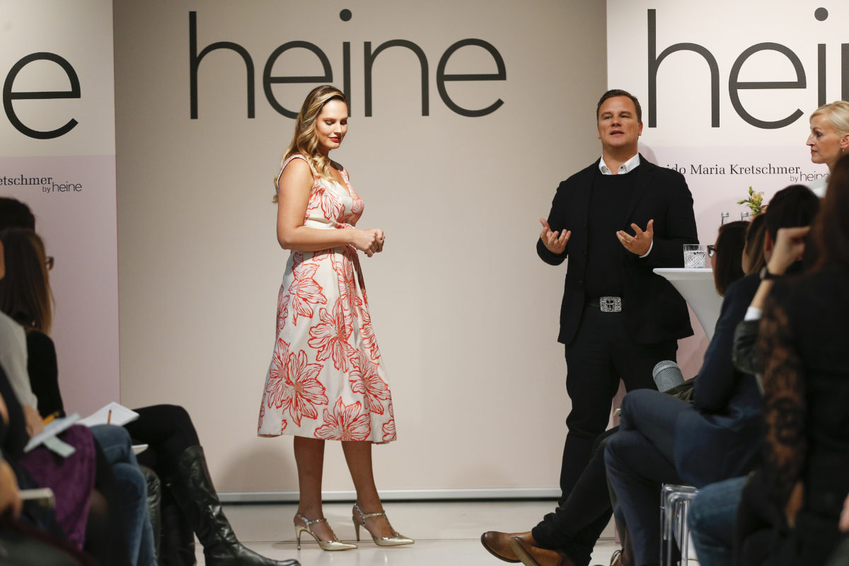 Heine kleider guido kretschmer