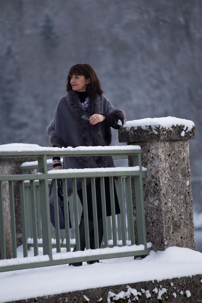 Cape Lady like im Schnee