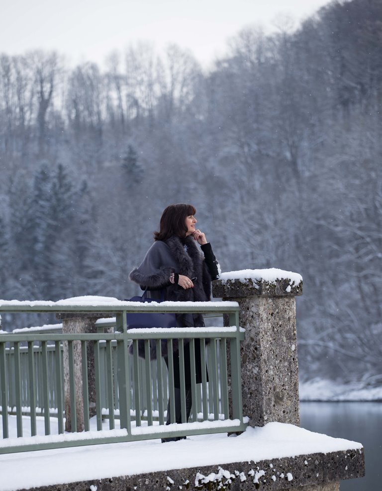 Fake Fur im Winterlook