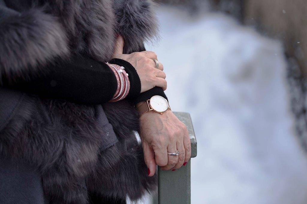Details Cape Uhr Armband