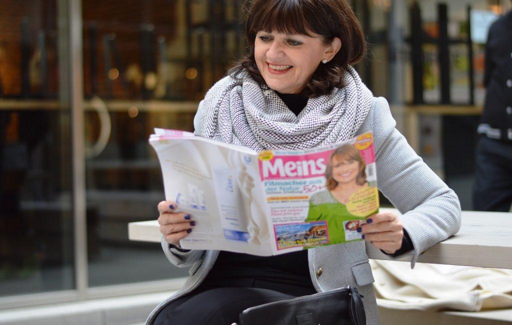 Lady 50plus – Mein Interview in der Zeitschrift MEINS