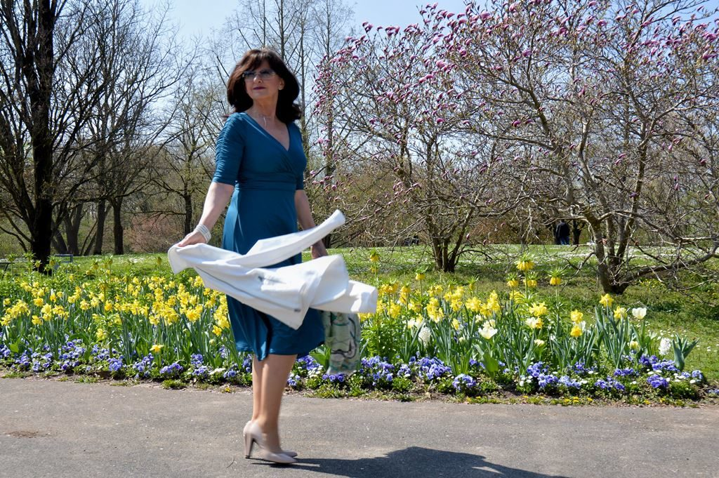 Frühlingslaune zum Anziehen – gute Figur im Kleid