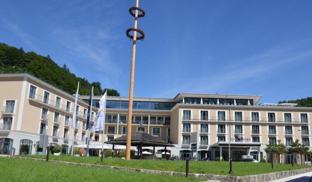 Hotel Edelweiß in Berchtesgaden – Stadthotel mit Freizeitcharakter