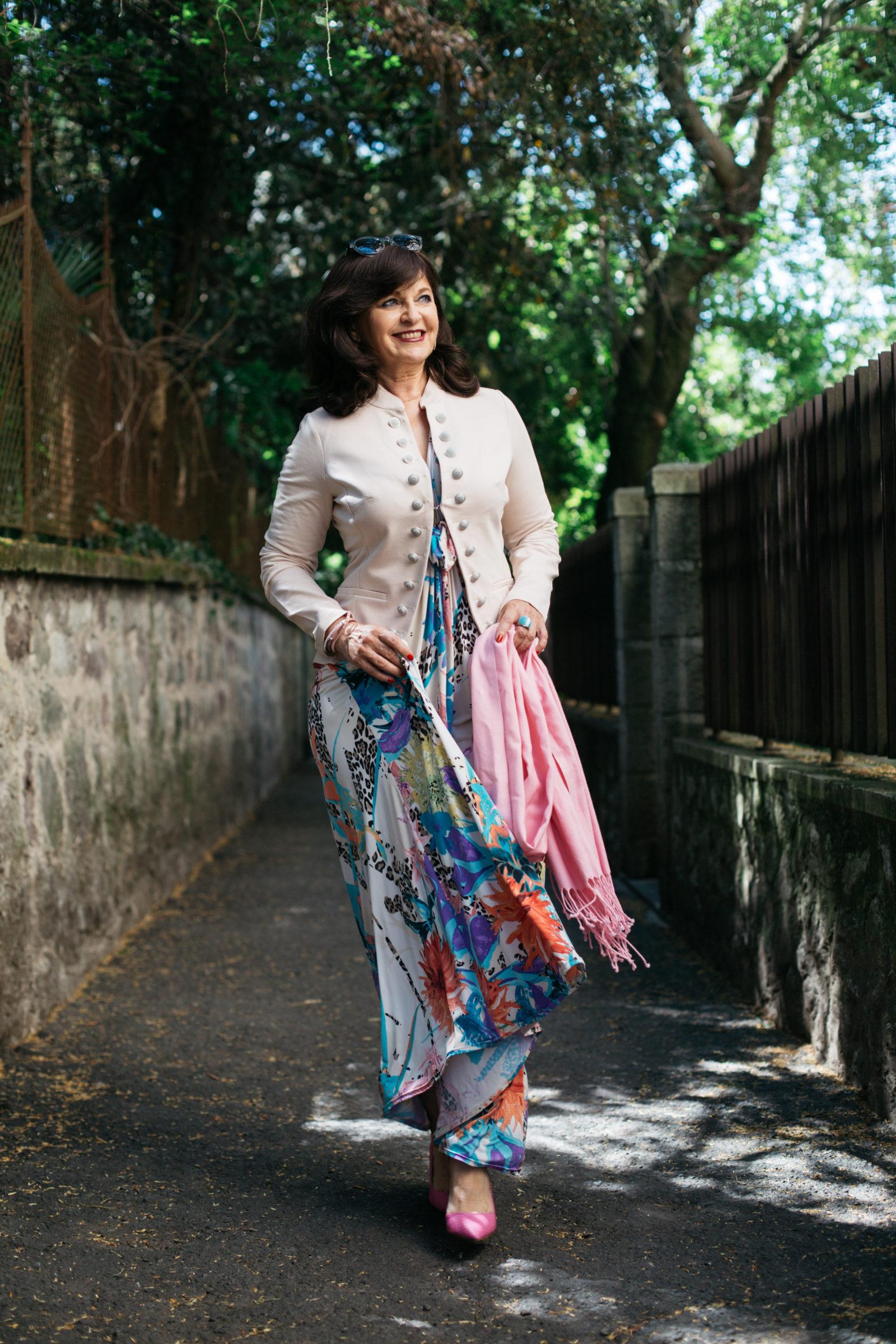 MAXIKLEID - Weiblichkeit im Sommerkleid - Martina Berg - Lady 50plus