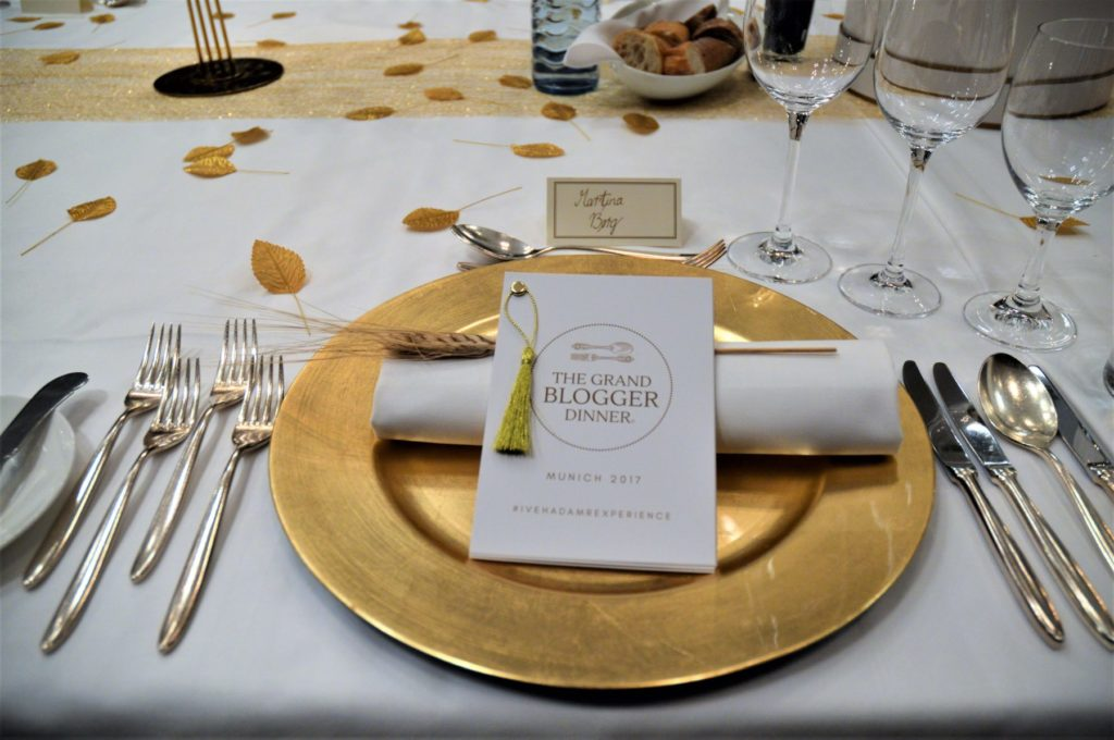 THE GRAND BLOGGER DINNER – MUNICH 2017