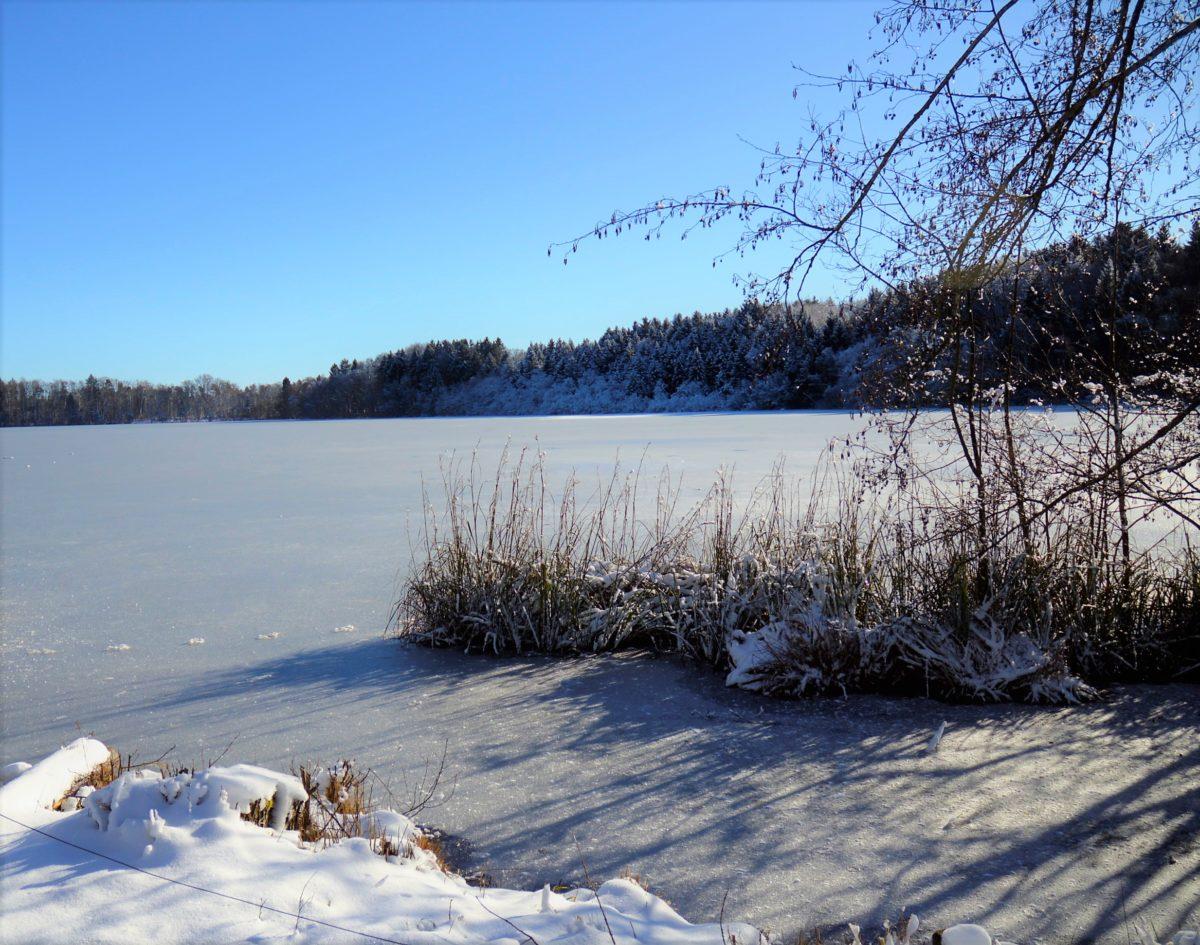 Winterlandschaft Bayern