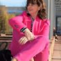Blazer in pink Stil 50plus
