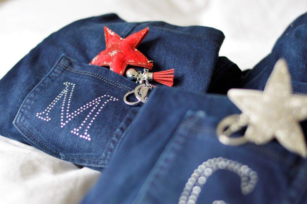Jeans personalisiert mit M