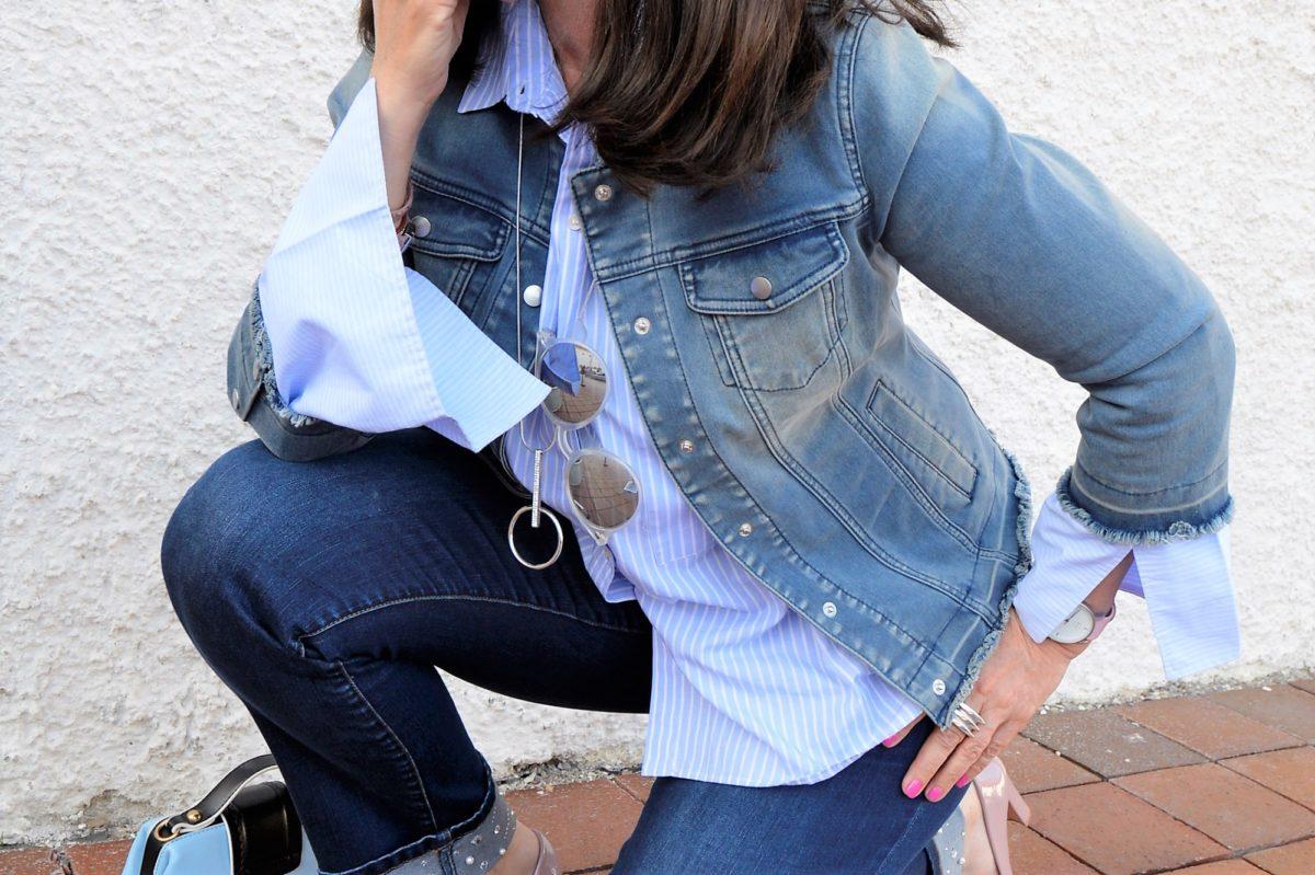 Jeansjacke mit Lady Deluxe