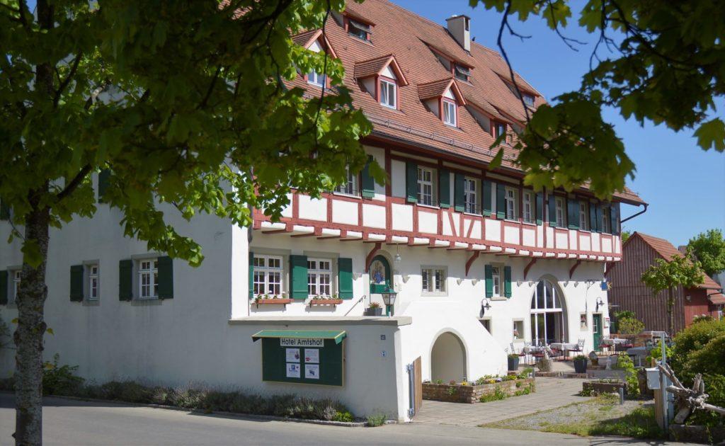 DER AMTSHOF – das Hotel mit Geschichte direkt am Bodensee