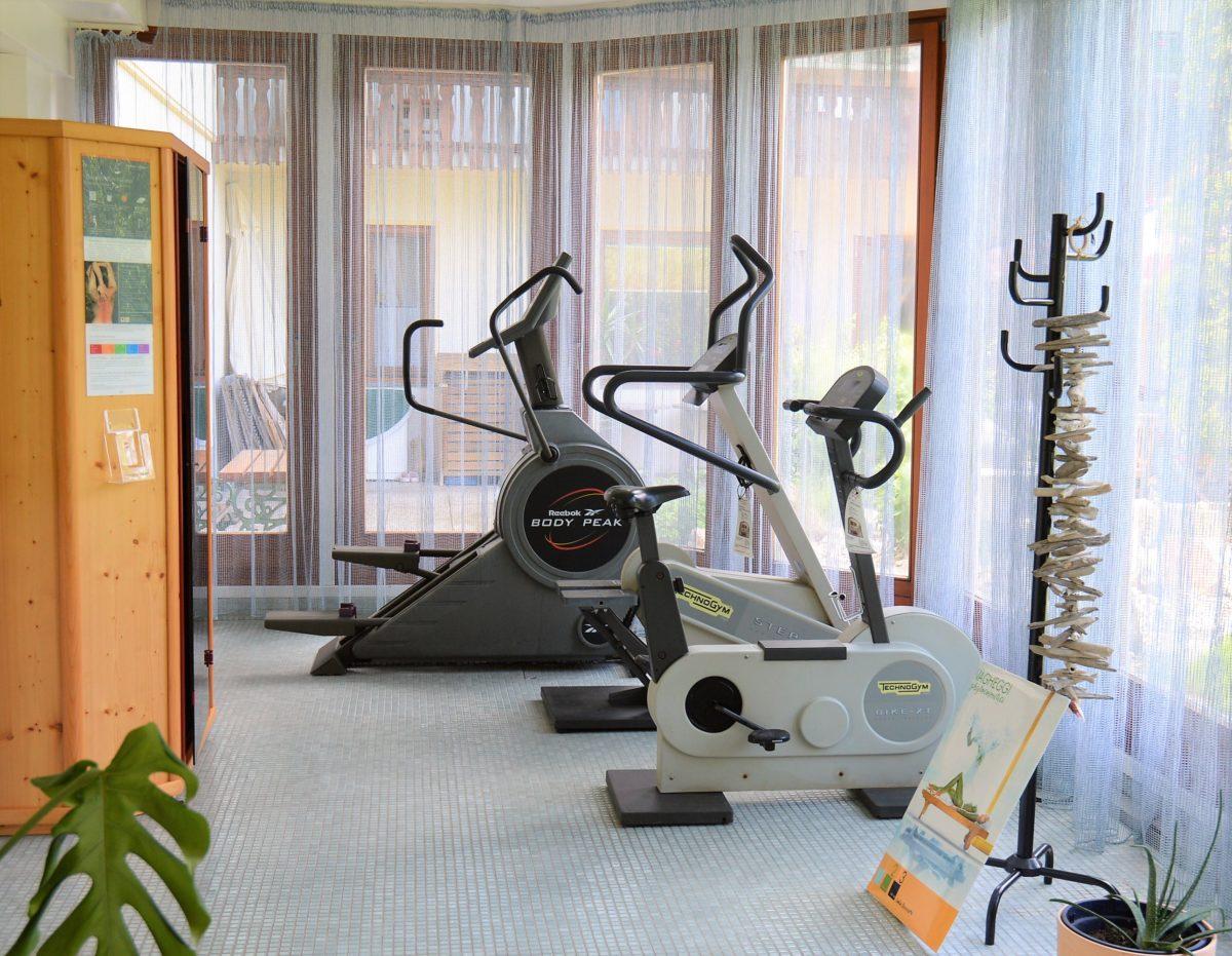 Fitnessraum Landhaus Servus