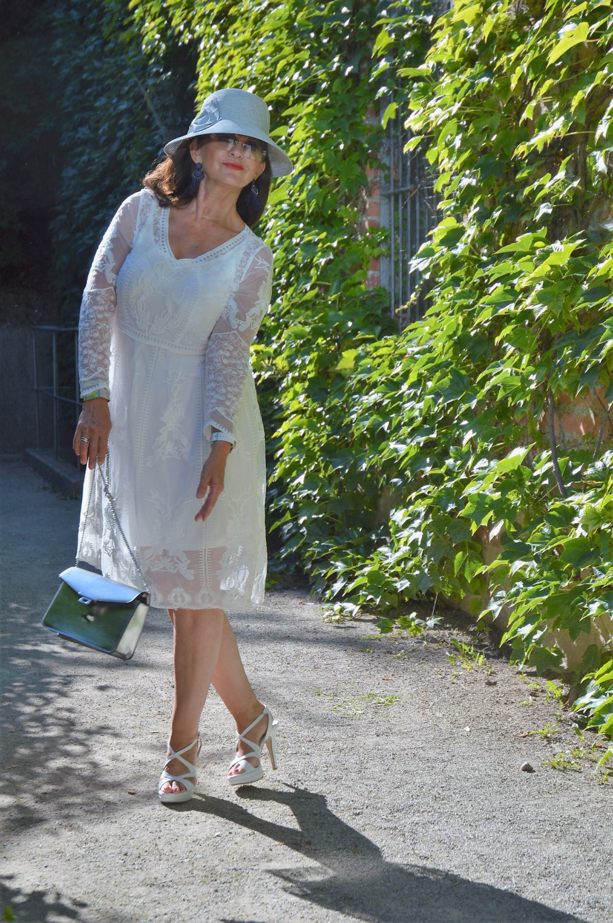 Kleid im Sommer