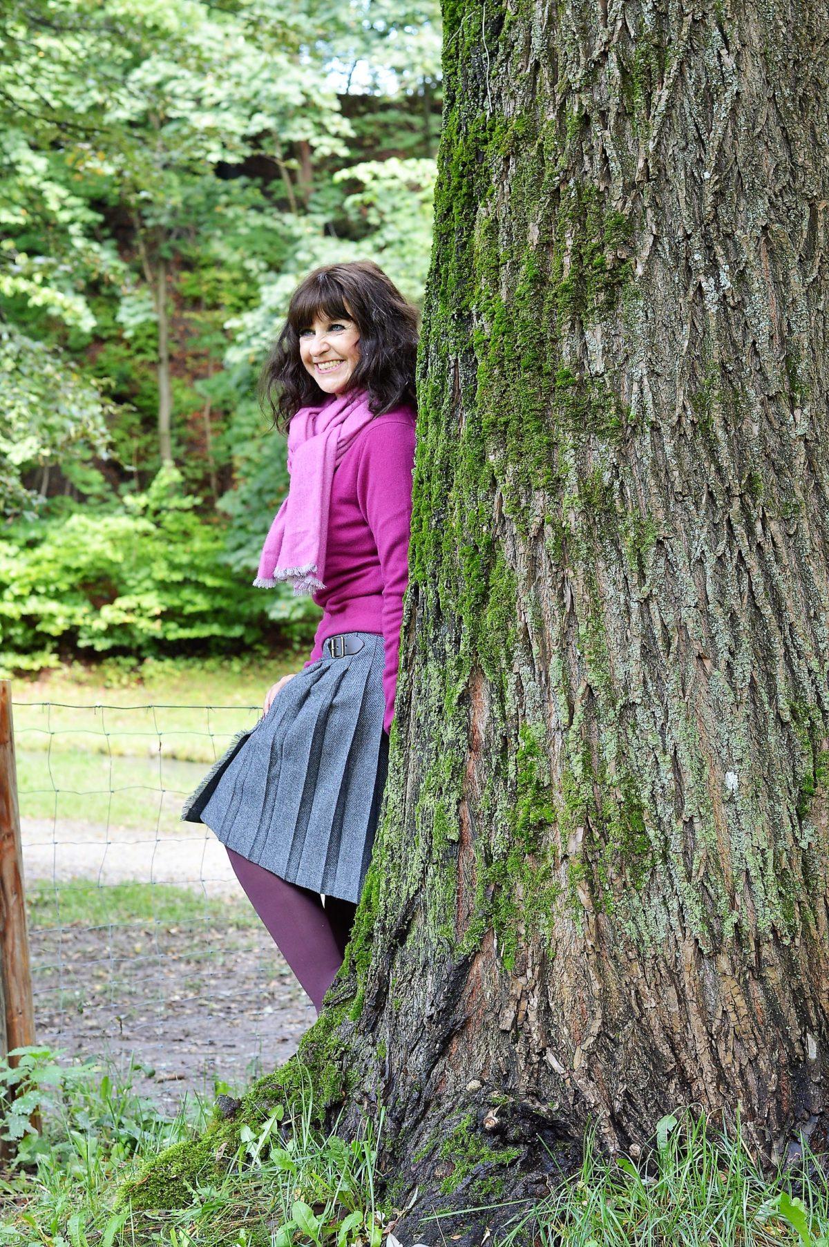 Kilt am Baum