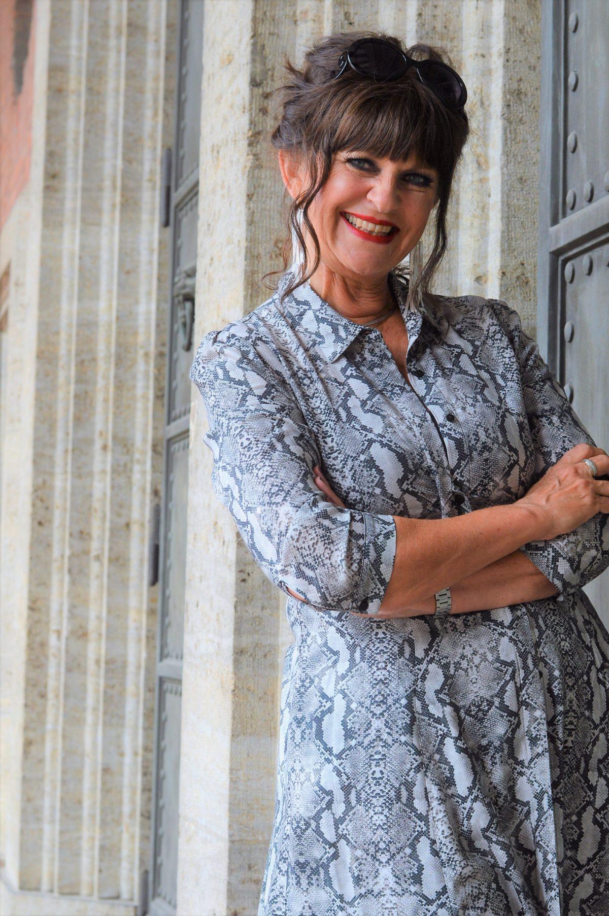 Zara Kleid Animalprint
