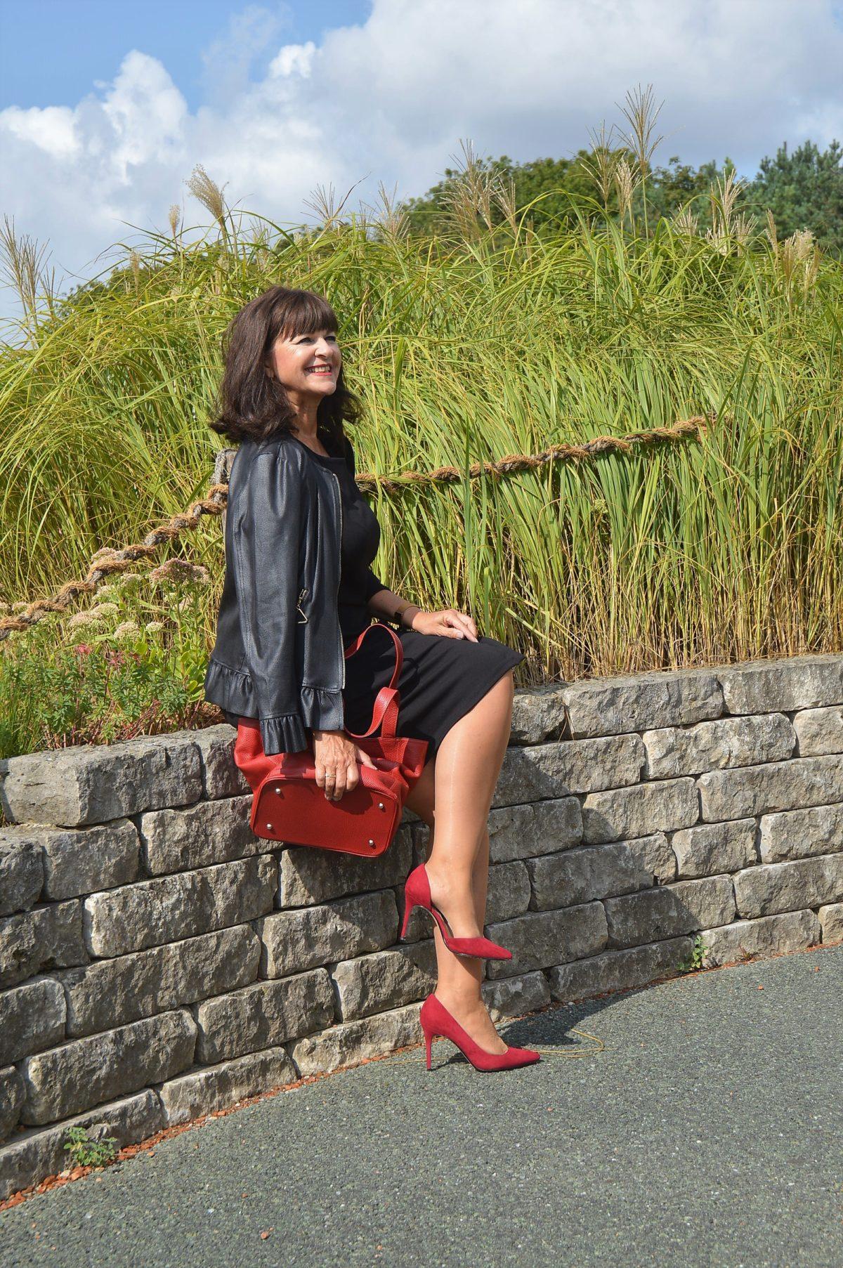 Herbstoutfit 2018 Lady Like Im Schicken Kleid Martina Berg