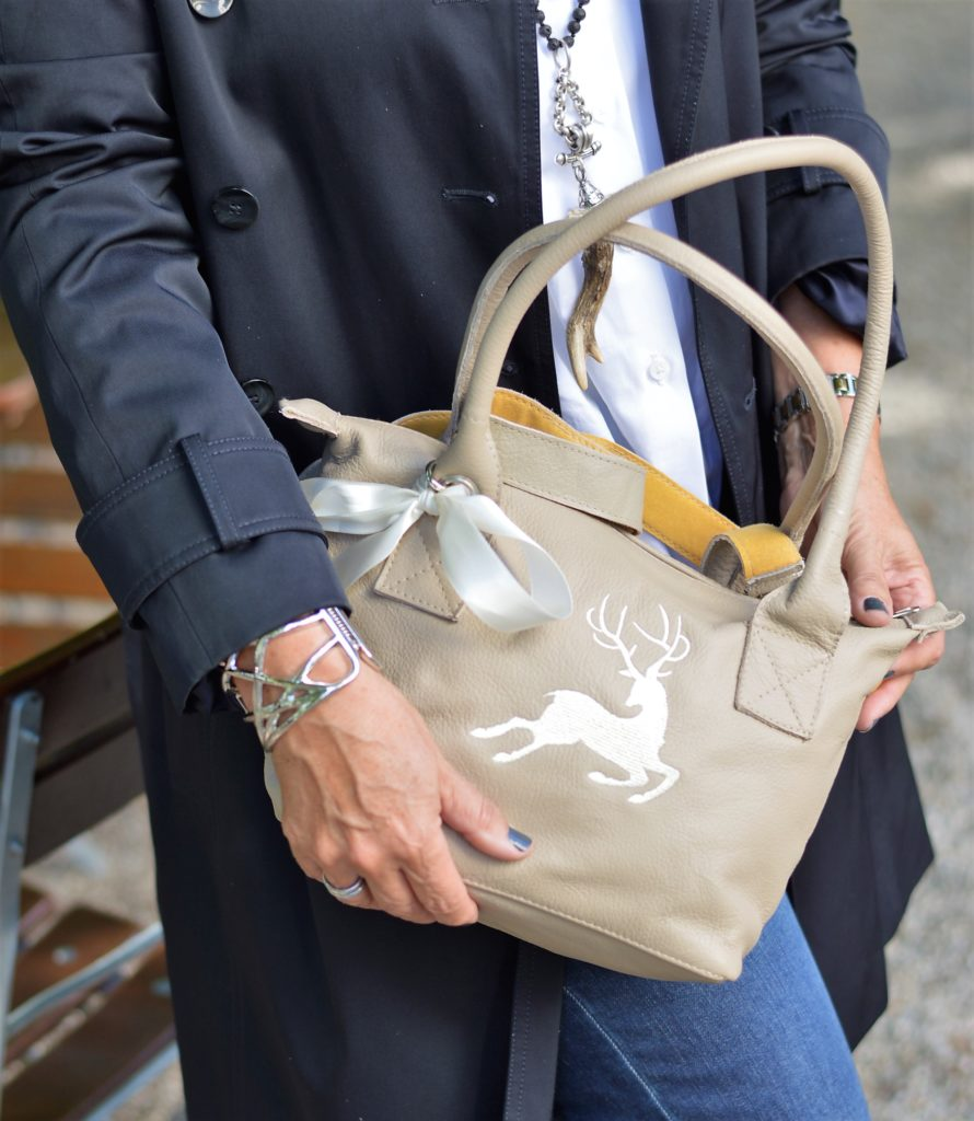 Hirschmotiv Tasche