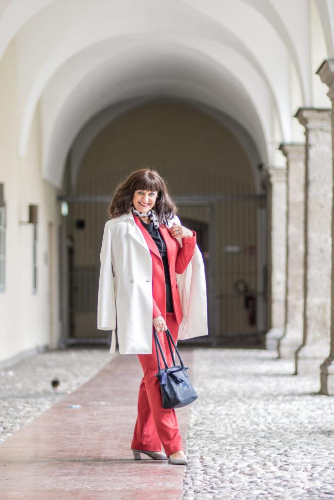 Roter Hosenanzug – mein Fashion Statement für den Herbst