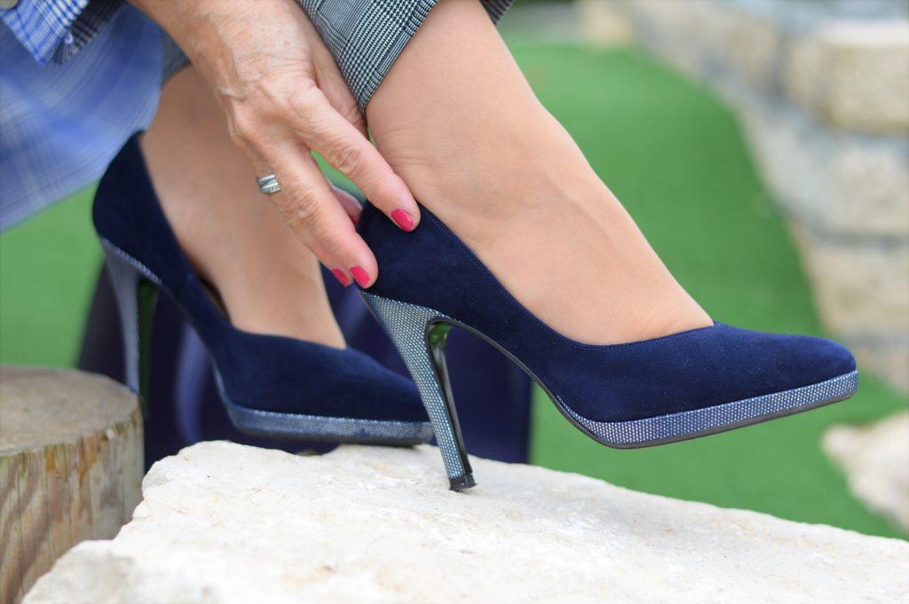 Schuhe Peter Kaiser Blau