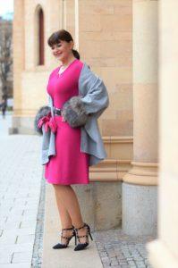 Pinkfarbiges MarcCain Kleid