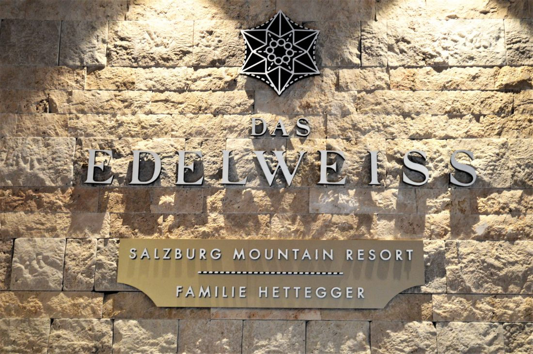 Edelweiss Schild