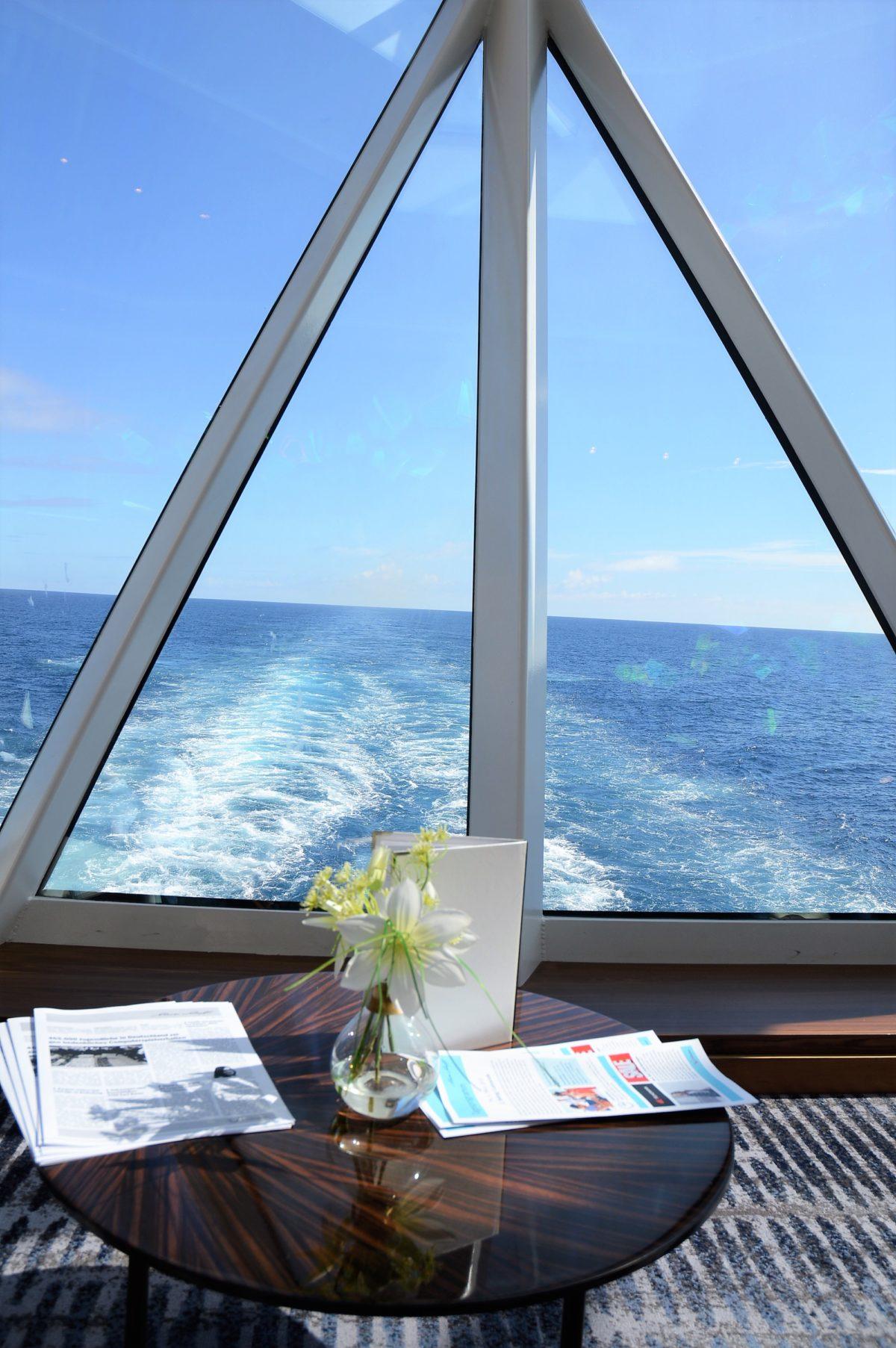 Ausblick auf See