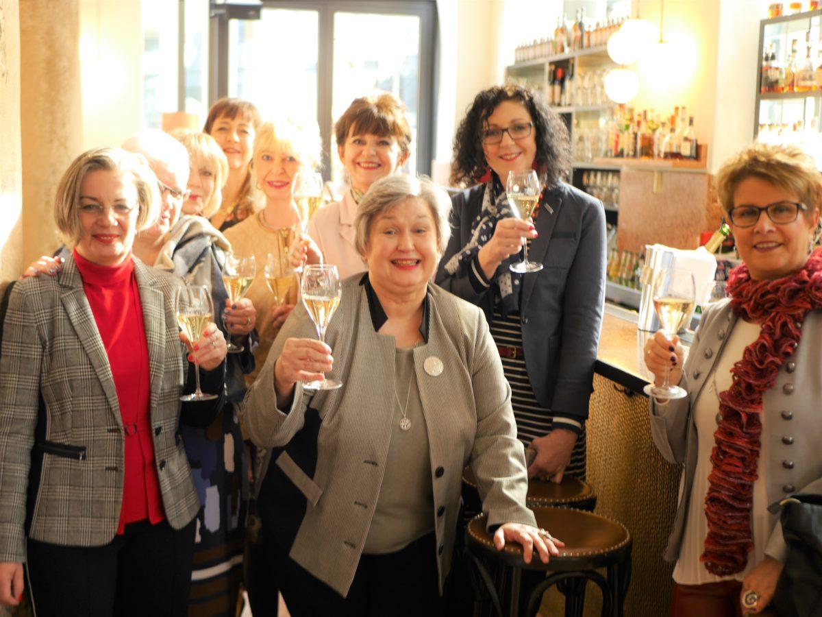 Champagner Empfang