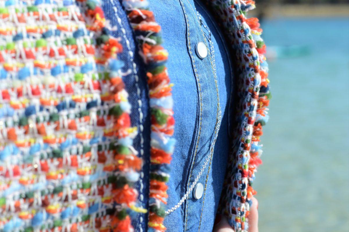 Details Boucle-Blazer