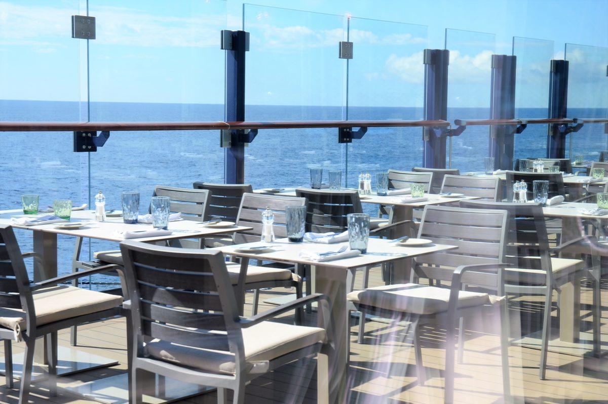 Außenrestaurant Mein Schiff